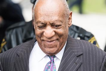 Bill Cosby Confronted By Topless Protestor Outside Of Court
