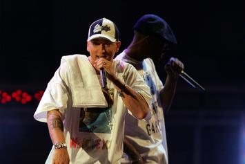 Eminem Shares Ridiculous Rehearsal Video Prior To Coachella