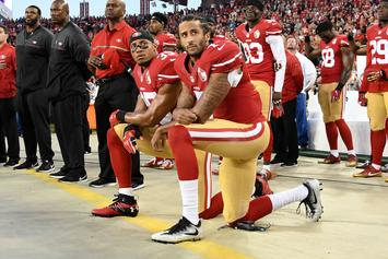 Colin Kaepernick Defends Anthem Protest With Jackie Robinson Quote