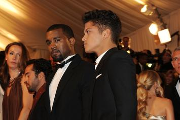 Kanye West Is Upset Bruno Mars Won Awards At The MTV VMAs