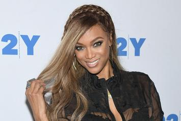 Tyra Banks Tells 2 Chainz She's Single & Needs Another Chain While Eating Hot Wings