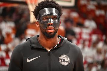 Miami Heat's Justise Winslow Fined $15K For Stepping On Joel Embiid's Mask