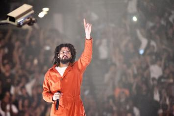 """J. Cole's """"KOD"""" Debuts At No. 1 With Biggest Sales Week Of 2018"""