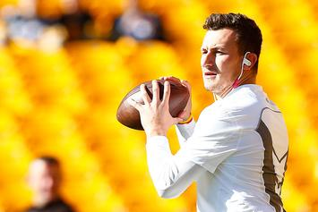 Johnny Manziel Issues Statement After Being Hospitalized