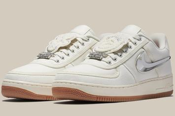 """Travis Scott x Nike Air Force 1 Low """"Sail"""" Releasing This Year"""