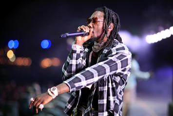 Offset Shows Off Injuries While Smoking A Joint In 1st Video Since Crash