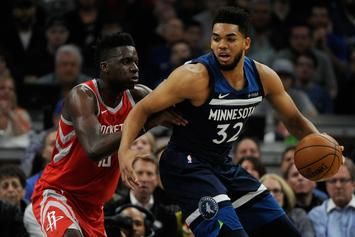 "Karl-Anthony Towns & Timberwolves Reportedly ""Not In A Good Place"""