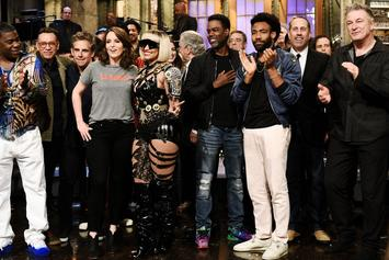 """Donald Glover, Chris Rock, Jerry Seinfeld & More Appear in Tina Fey's """"SNL"""" Monologue"""