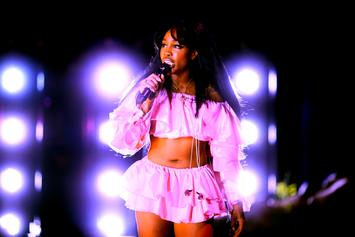 """SZA Pulled From Several TDE """"Championship"""" Tour Dates Due To Swollen Vocal Cords"""