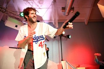 "Lil Dicky Staged Intimate ""Freaky Friday"" Premiere For Drake & Kanye West"