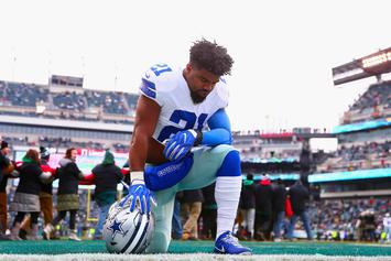 Ezekiel Elliott Reacts To Falling 47 Spots In NFL's Top 100 Player List