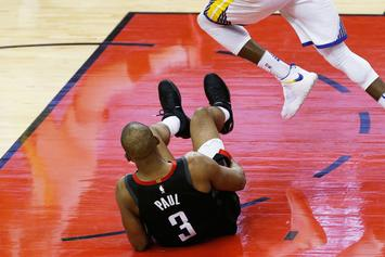 Rockets Vs Warriors: Chris Paul's Game 6 Status In Question