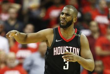 Rockets' Chris Paul Ruled Out For Game 6
