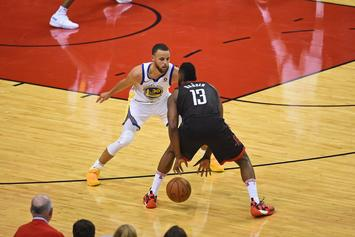 "James Harden Unfazed By Shooting Woes: ""Who Cares? We're Winning"""