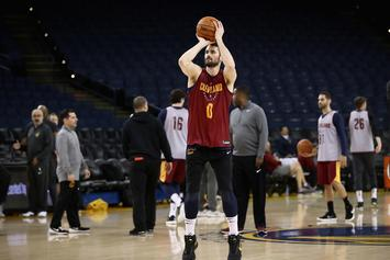 Kevin Love Won't Face Discipline For Entering Court In Game One