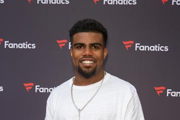 Watch Ezekiel Elliot Pull Down A Woman's Top At St. Patrick's Day Parade