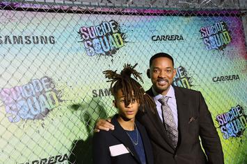 """Will Smith Trolls Jaden Smith By Adding His Own Verse To """"Icon (Remix)"""""""