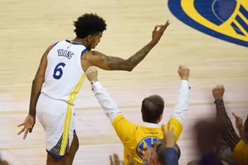 Nick Young Gets New Neck Tattoo In Cleveland Ahead Of Game 3