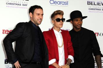 "Justin Bieber ""N-Word"" Lawsuit Labelled As Blackmail By Scooter Braun"