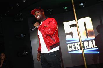 """50 Cent Reveals The True Origins Of His """"Get The Strap"""" Catchphrase"""
