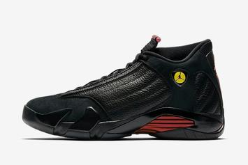"Air Jordan XIV ""Last Shot"" Releasing Early Via House Of Hoops"