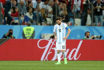 World Cup 2018: Argentina At Risk Of Elimination After 3-0 Loss To Croatia
