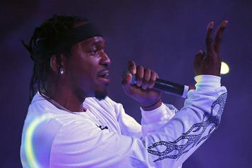 """Pusha T Is """"Putting Final Touches"""" On Teyana Taylor's Album Coming Later Today"""