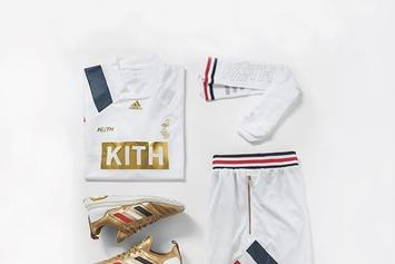 """KITH x Adidas Soccer Unveil """"Chapter 3: Golden Goal"""" Collection"""