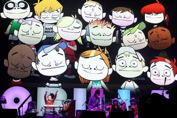 """Gorillaz Streamed A Performance Of Their Entire """"The Now Now"""" Album In Tokyo"""