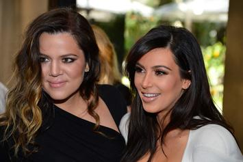 Kim Kardashian Wishes Khloe Kardashian Happy Birthday With True & Chicago Pic