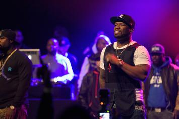 "50 Cent's Performance Steals The Show At ""Power"" Premiere"