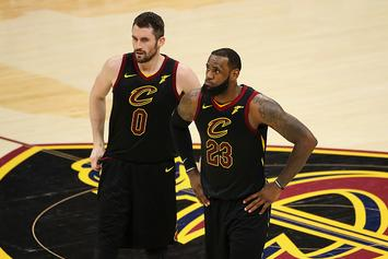 LeBron James' Departure Prompts Cavs To Consider Kevin Love Trade