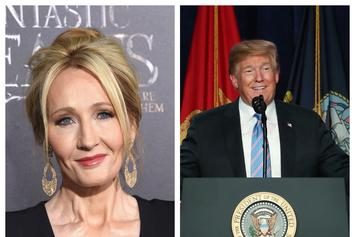 Donald Trump Brags About His Writing Skills & J.K. Rowling Can't Stop Laughing