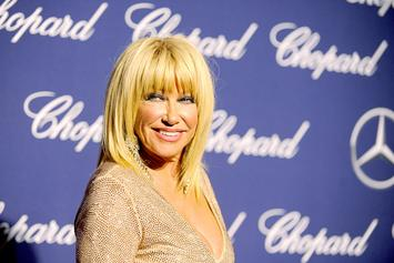 "Suzanne Somers Defends Morgan Freeman, Says He's Just A ""Big Flirt"""