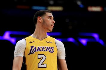 Lakers Believe Lonzo Ball's Reps Leaked Injury To A Prevent Trade