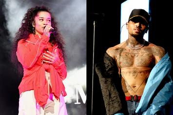 "Chris Brown Teases Collaboration With ""Boo'd Up""s Ella Mai"