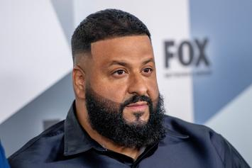 """DJ Khaled Shows Impeccable Footwork In """"Father Of Asahd"""" Dancing Promo"""