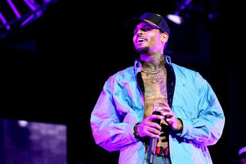 Chris Brown Cops An Iced Out House Arrest Ankle Monitor