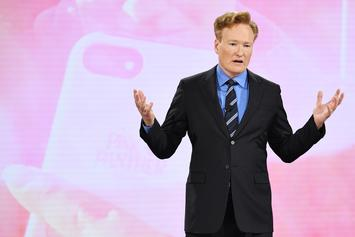 "Conan O'Brien's ""Batman"" Comic-Con Sketch Is Hilarious Vision Of DC Vs. Marvel"