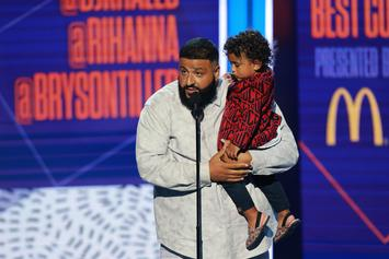 "DJ Khaled Previews ""No Brainer"" Single With Hilarious Asahd Khaled & Kevin Hart Skit"