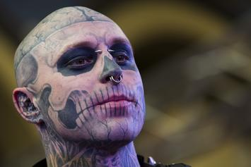 "Rick Genest, AKA ""Zombie Boy"" From Lady Gaga's ""Born This Way,"" Dead At 32"