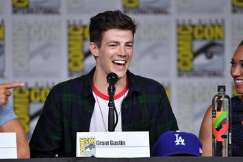 """Grant Gustin Calls Out Body Shamers After """"The Flash"""" Season 5 Suit Leak"""