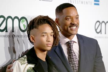 """Will Smith Watches Like A Proud Dad As Jaden Smith Opens """"KOD"""" Tour"""