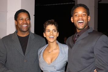 Will Smith & Halle Berry Share Hilarious Photos Of Their Faces Molded Together