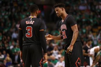 Dwyane Wade, Jimmy Butler Exchange More Pleasantries On Instagram
