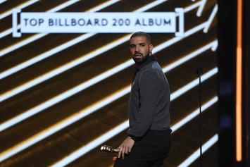 "Drake Logs 7th Week At No. 1 With ""In My Feelings,"" Nears Usher's Record"
