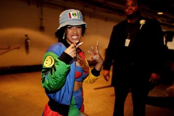 Cardi B Shares Photo From When She Was 20 Years Old With A Blunt In Hand