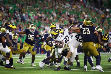 Twitter Isn't Impressed With Michigan's Loss To Notre Dame