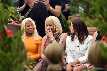 Nicki Minaj & Her Mom Look Like Twins In NYFW Photos