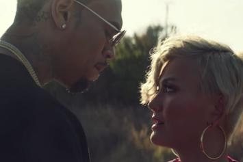 """Chris Brown Gets Close To Agnez Mo In Her """"Overdose"""" Video"""